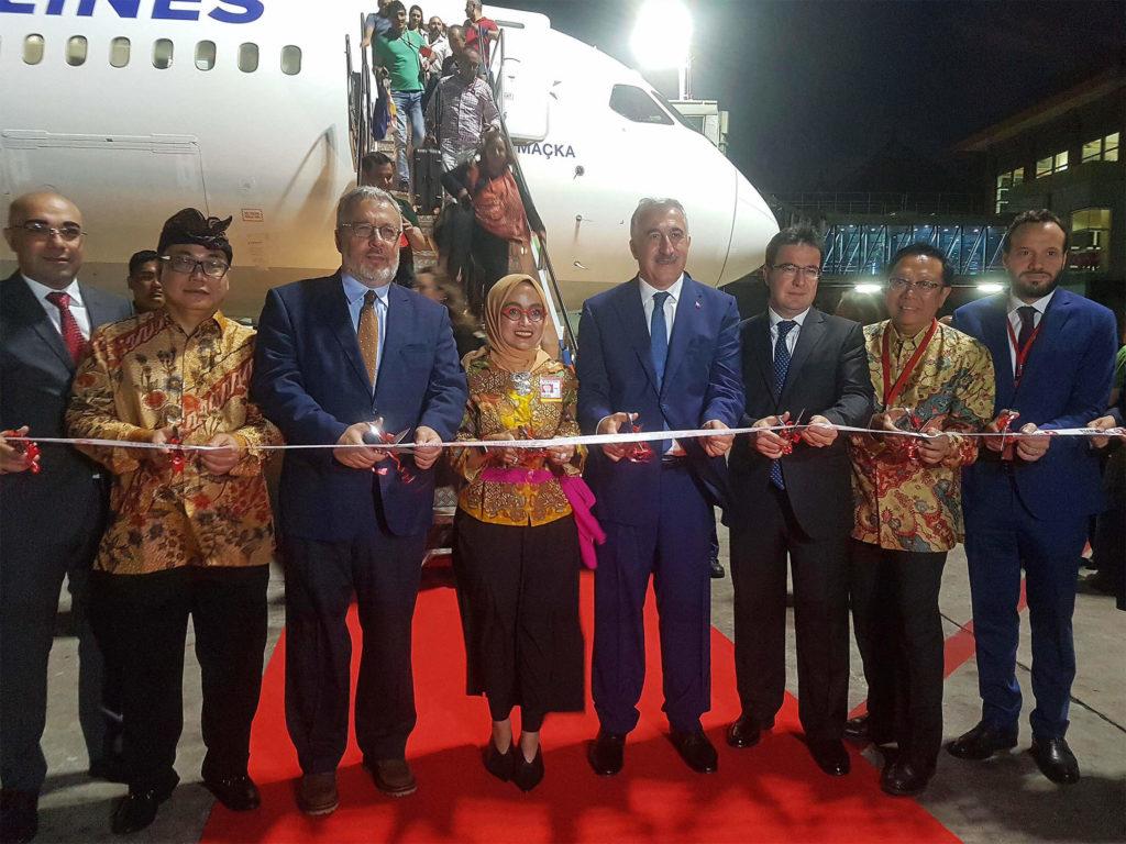 Turkish Airlines на Бали